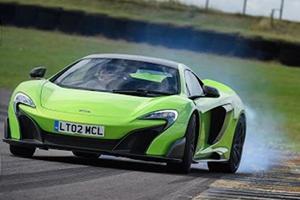 Massacring Tires In A Screaming McLaren 675LT Is A Dream Come True