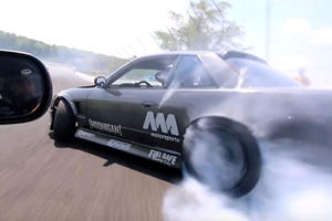 Here's What It's Like To Learn How To Drift For The First Time