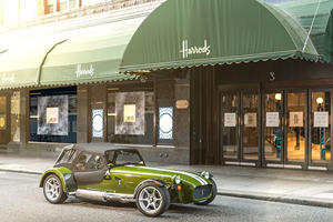 You Can Now Buy Caterhams In A Department Store