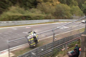 How The Hell Does This Suzuki Not Flip After A Brutal Nurburgring Crash?