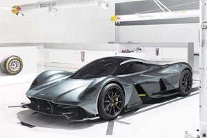 Aston Martin's AM-RB 001 Will Do 200 MPH In 10 Seconds, Cost $3 Million