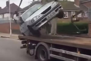 This Is The Worst Tow Truck Escape Attempt We've Ever Seen