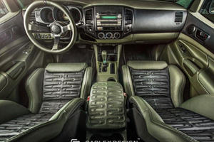 Interior Masters Transform Toyota Tacoma Into Swamp Monster
