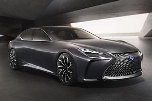 Could Lexus Be (Finally) Prepping Its Answer To The Mercedes-AMG S65?