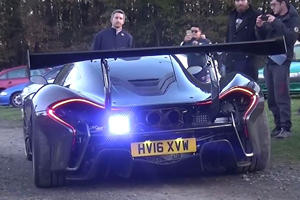 Watch The Street-Legal McLaren P1 LM Rip Up The Ring