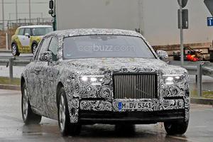 We Finally Spy The Brand New Rolls-Royce Phantom Going Modern
