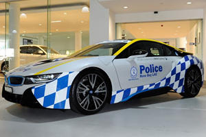 Cops Down Under Now Have A BMW i8 To Scare Off Criminals With