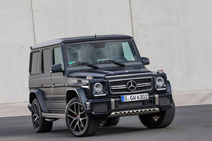 The G Wagon Has Lost 660 Pounds So It Can Embarass More Sports Cars
