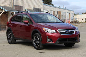 2016 Subaru Crosstrek:  CUVs Can Beat Wagons