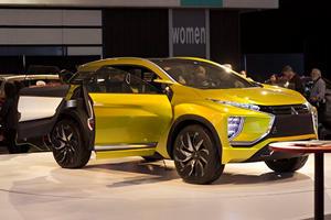 The Mitsubishi eX Concept Is The EV That Will Lead The Company's Comeback