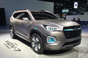 Subaru's Viziv-7 Concept Previews A Gigantic Seven-Seat SUV With AWD