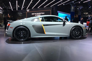 Audi R8 Exclusive Edition Shoots Lasers From Its Eyes
