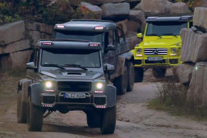 A Good Day Is When 1,660 HP And 11.5 Tons Of Mercedes G-Class Go Driving