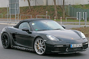We Caught The New Porsche 718 Boxster GTS Out Testing