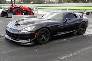 1500-HP Dodge Viper Breaks Quarter-Mile World Record