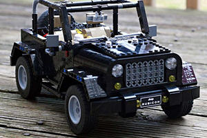 This Fan-Made Lego Jeep Wrangler Is Fit For Mass Production