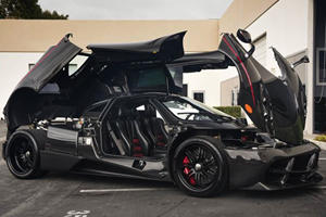 Super Rare Bare Carbon Pagani Huayra Spotted For Sale In Cali