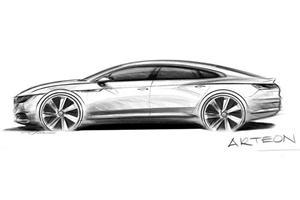 Meet The VW Arteon: Volkswagen Reveals Gorgeous CC Replacement