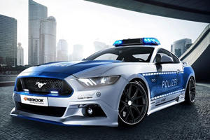 The Ford Mustang GT Is Germany's Greatest Ever Cop Car