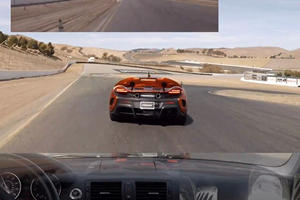 How Can This BMW 135i Keep Up With A McLaren 675LT?