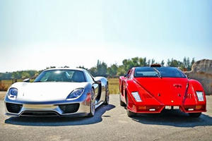 This 918 Spyder Vs. Knockoff Enzo Comparison Is The Best Thing You'll See Today