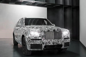 Rolls-Royce Drops A Visual Bomb By Showing Its Cullinan SUV To The World