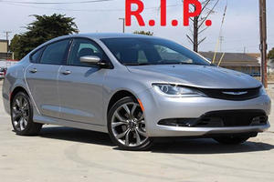 FCA Has Officially Killed Off The Doomed Chrysler 200