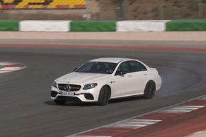 Mercedes Wants You To Know Its Drift Mode Plays Well With 600 HP