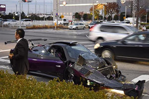 The One-Off Pagani Zonda Zozo Has Been Wrecked In Japan