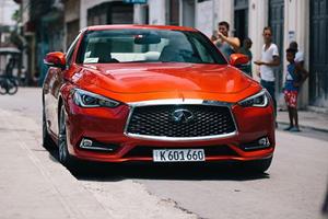 Infiniti Brings First US Car To Cuba In 58 Years