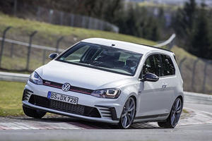 VW Won't Stop Reminding Honda That It Owns The Nurburgring FWD Lap Record