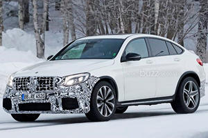 Our Spies Caught The AMG GLC63 Proving CUVs Don't Always Suck