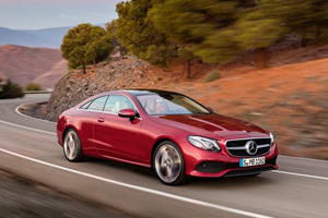 This Is The New Mercedes-Benz E-Class Coupe: It's Bigger And Better