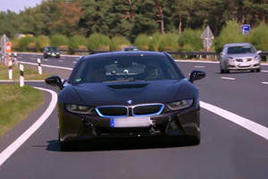 Conan O'Brien Going Flat Out In A BMW i8 Is Just Too Funny For Words