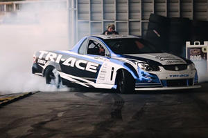 This 1000-HP Holden Ute Is Insanely Good At Drifting