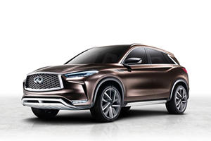 Infiniti QX50 Concept Revealed Ahead Of Official Detroit Debut