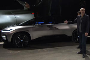 Watch The Faraday FF 91 Fail To Park Itself In Live Demonstration