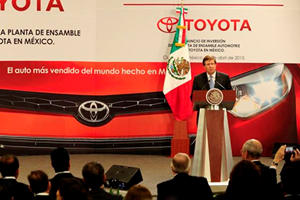 Donald Trump Takes Aim At Toyota Over Mexican Manufacturing