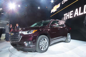Chevy Traverse Debuts In Detroit Based Heavily Off The GMC Acadia
