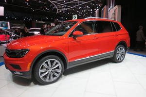 Volkswagen Tiguan Long Wheelbase Hits Detroit To Join VW SUV Invasion