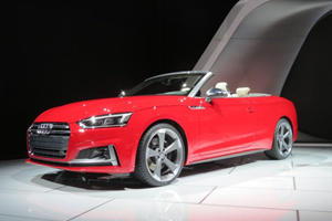 New Audi A5 And S5 Cabriolet Hit The Stage At Detroit With Menacing Looks