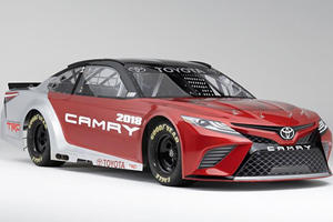 New NASCAR Toyota Camry Hitting The Track Next Month