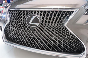 We Discovered The Lexus LS Front Grille Design Took 3.5 Years To Finalize
