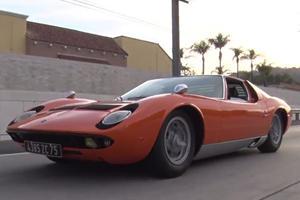 Someone Found a $2.5 Million Lamborghini Miura In A Barn