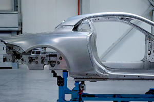 Alpine Shows Off The A120's Alluring Aluminium Chassis