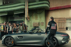 The Mercedes-AMG GT Roadster Is Born To Be Wild For The Super Bowl