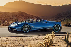 Pagani Huayra Roadster Revealed With 764 HP And Revolutionary Composite Chassis