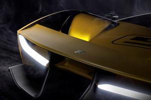Pininfarina Teases Front End Of 600-HP Nurburgring Killer