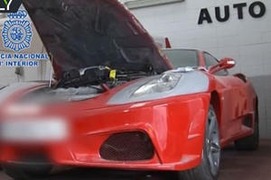 Police Bust Shop For Turning Toyotas Into Fake Ferraris And Lamborghinis