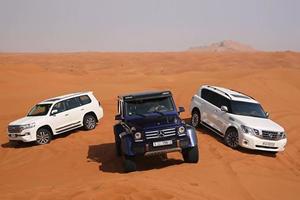 Three Off-Roading Legends Duke It Out In Desert Dune Drag Race